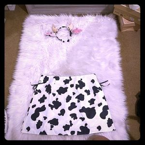 Sexy cow costume